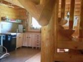 Kuchyňa zo schodiska