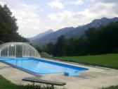 moderna chata s bazenom v malej fatre