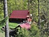 chata pri lese nedaleko ski certov
