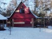 Chata v zimnom období