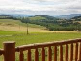 Pohľad z balkónu apartmánu č.1