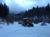 odhŕňanie snehu