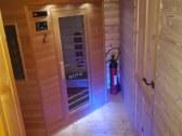 Súkromná sauna pre 3 osoby