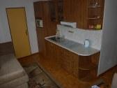 Kuchyňa-podkrovný apartmán