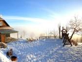 panorama ranc na beskyde