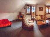 Jednoizbový trojlôžkový apartmán