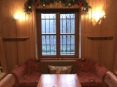 Chata - vianočná výzdoba