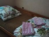 Chata Rudňanka spalna s manzelskou postelou