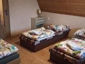 Chata Rudňanka spalna s 5timi postelami