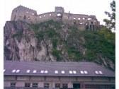 hrad Beckov pohľad od kurie beckov