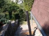 solárna sprcha vedľa chaty