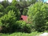 Chata z prístupovej cesty