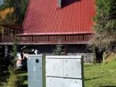 chata z bokčnej strany