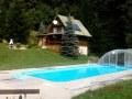 Chaty Mažgút s bazénom, Belá - ZA